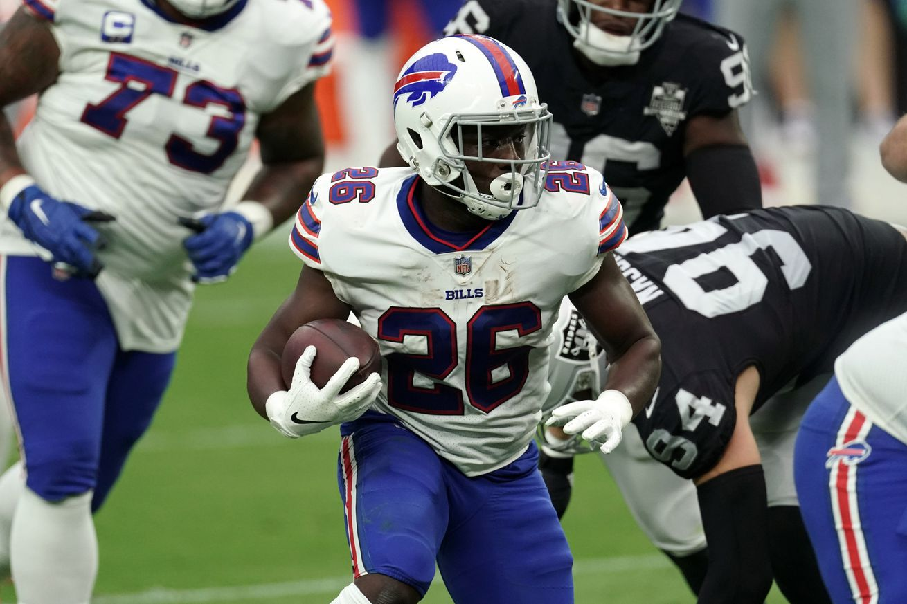 NFL: Buffalo Bills at Las Vegas Raiders