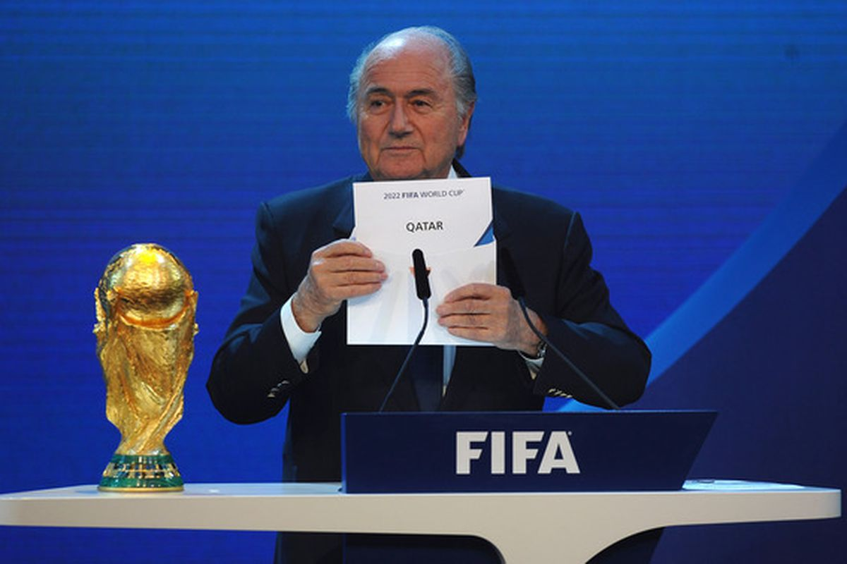 And the bidding nation that gave FIFA the most money over the past couple of years is....