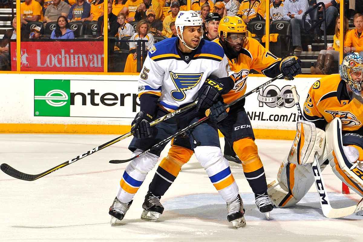 pretty nice a44f8 d66e1 Penguins trade for Ryan Reaves in draft day deal with Blues ...
