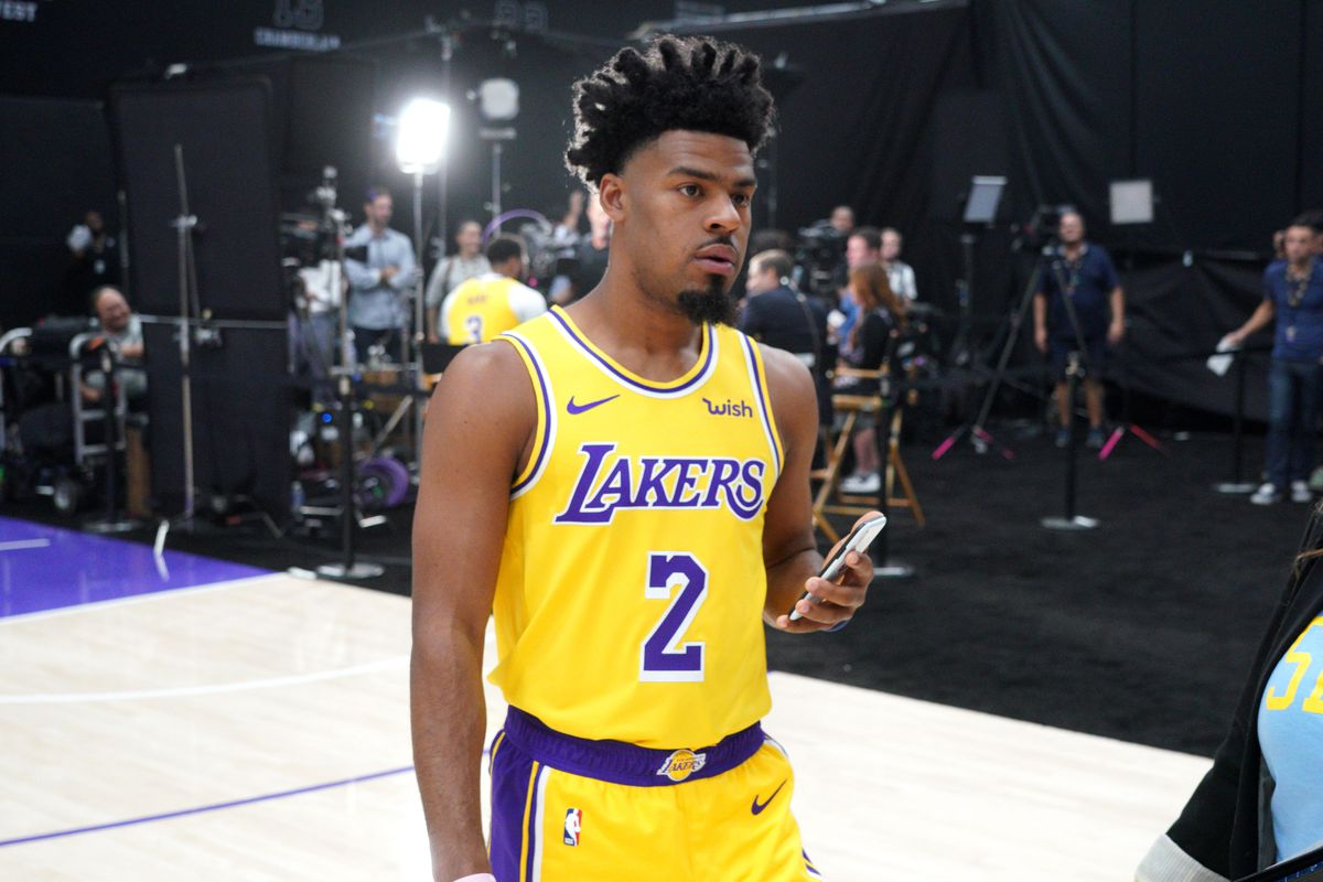Image result for QUINN COOK LAKERS MEDIA DAY