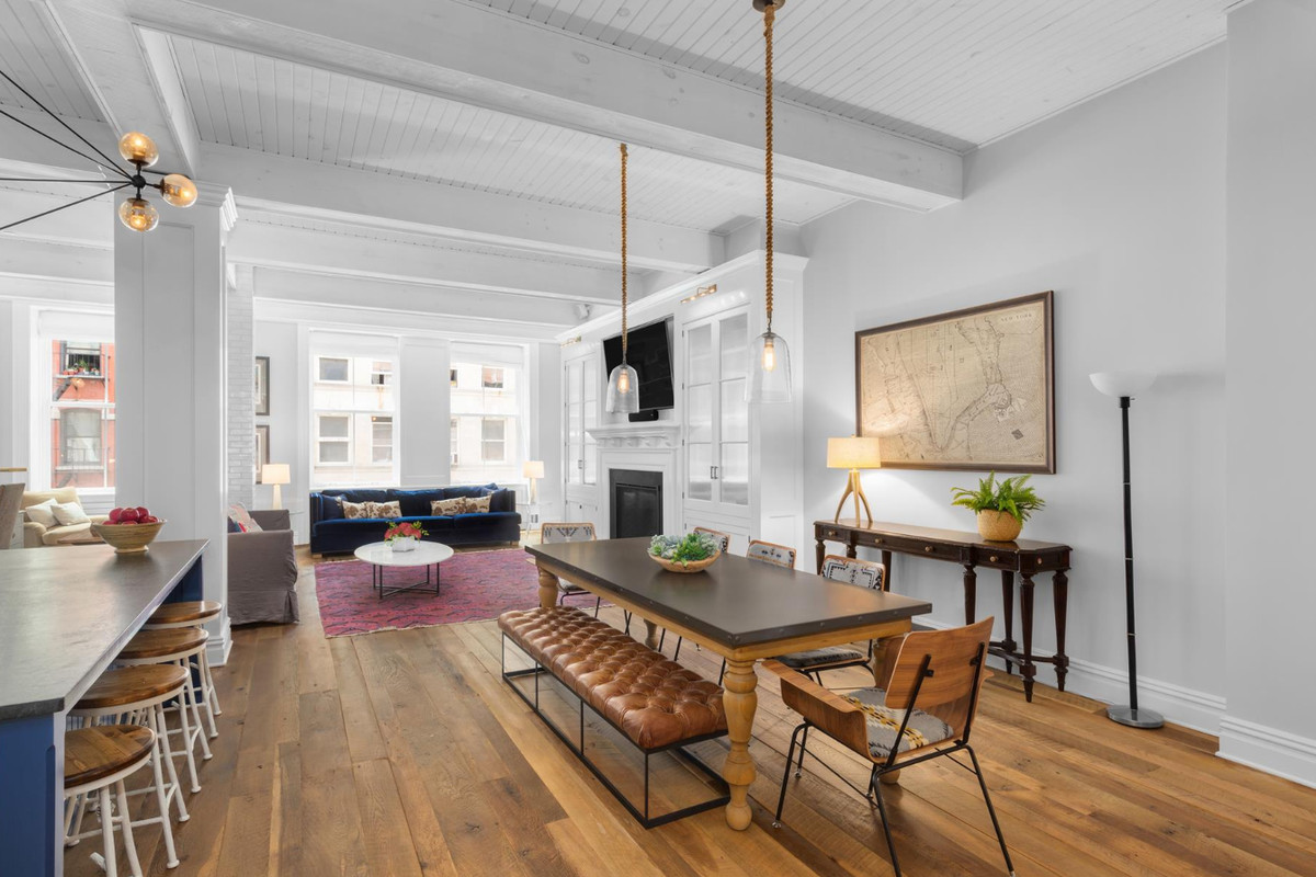 After chic, modern revamp, airy Tribeca loft wants $6.5M - Curbed NY