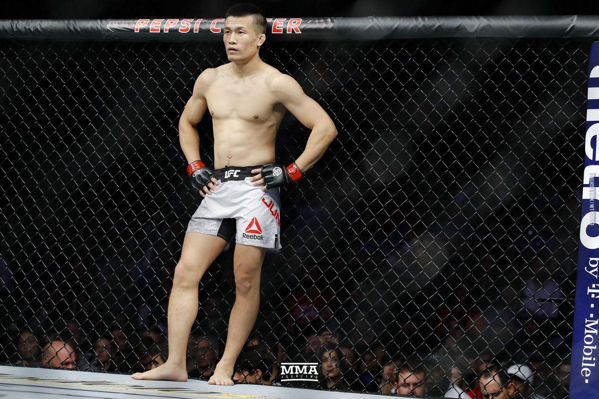 Chan Sung Jung sees himself as better matchup for Alexander Volkanovski than Max Holloway