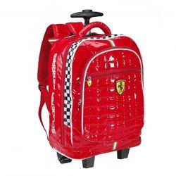 "Child's trolley and backpack, <a href=""http://store.ferrari.com/en/accessories/kids/school/ferrari-child-s-trolley.html"">$105</a>"