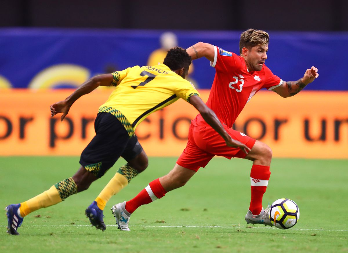 Soccer: 2017 CONCACAF Gold Cup-Jamaica at Canada
