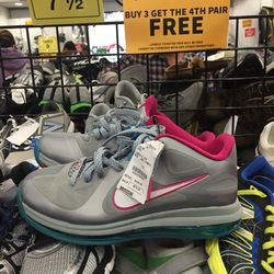 Nike sneakers, men's size 7.5, $74.95 (from $149.95)