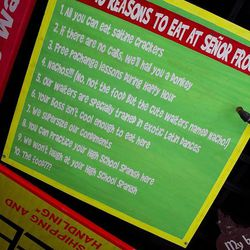 Why you should eat at Señor Frog's.
