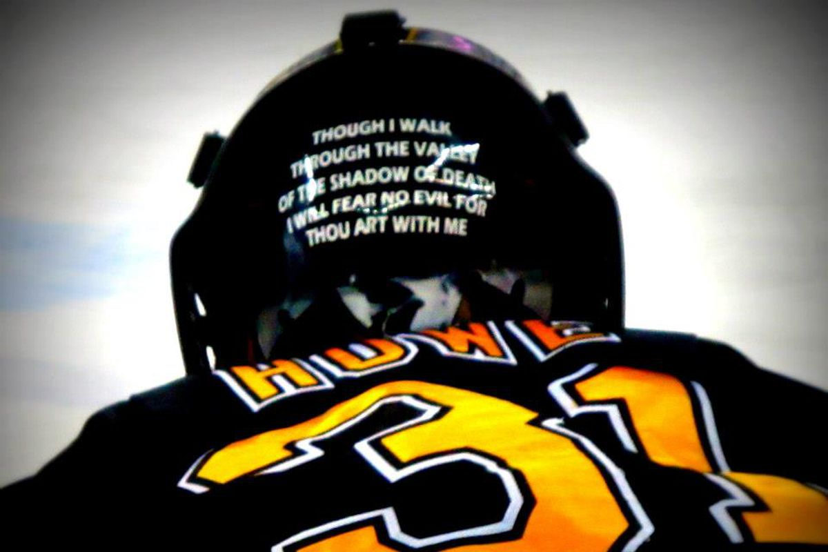 Colorado College goaltender Joe Howe made 35 saves