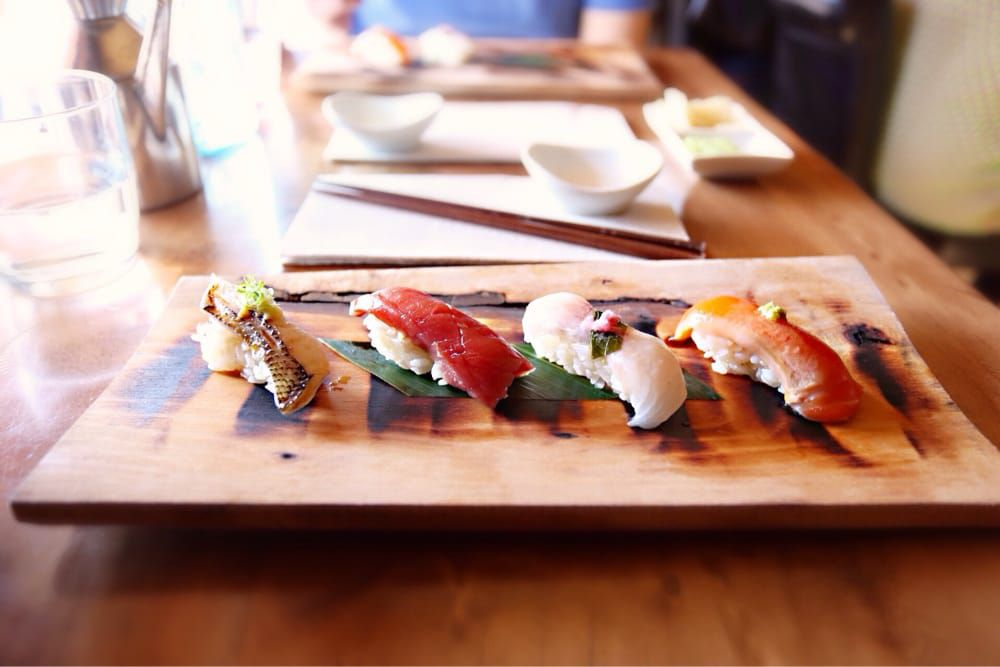 Sushi at Saru Sushi Bar