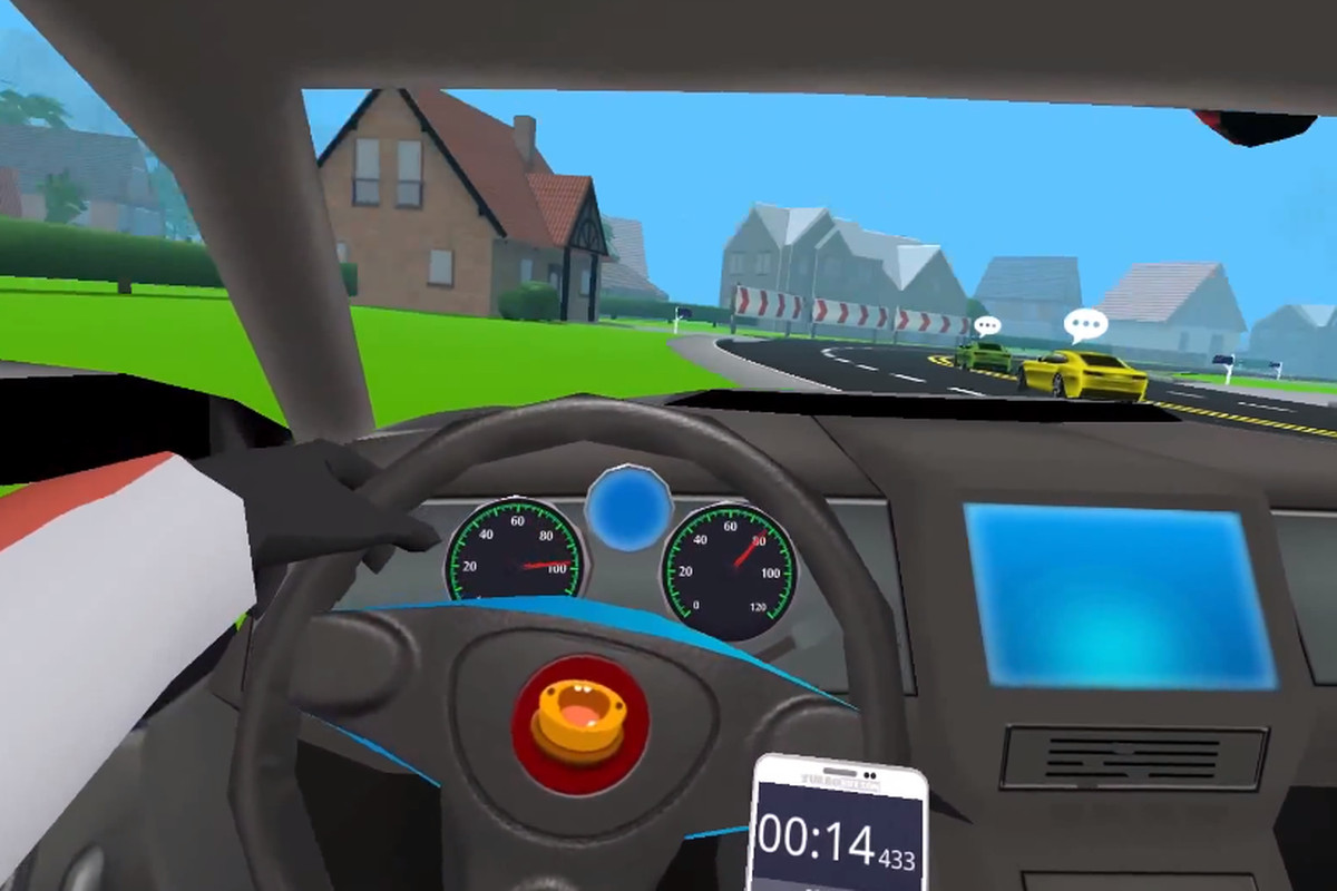Finally A Vr Game That Lets You Hone Your Texting And Driving Skills Polygon