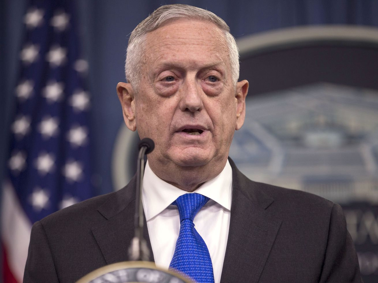 Secretary of Defense Jim Mattis is now on President Donald Trump's bad side. That's led some to say he may soon be on the way out.
