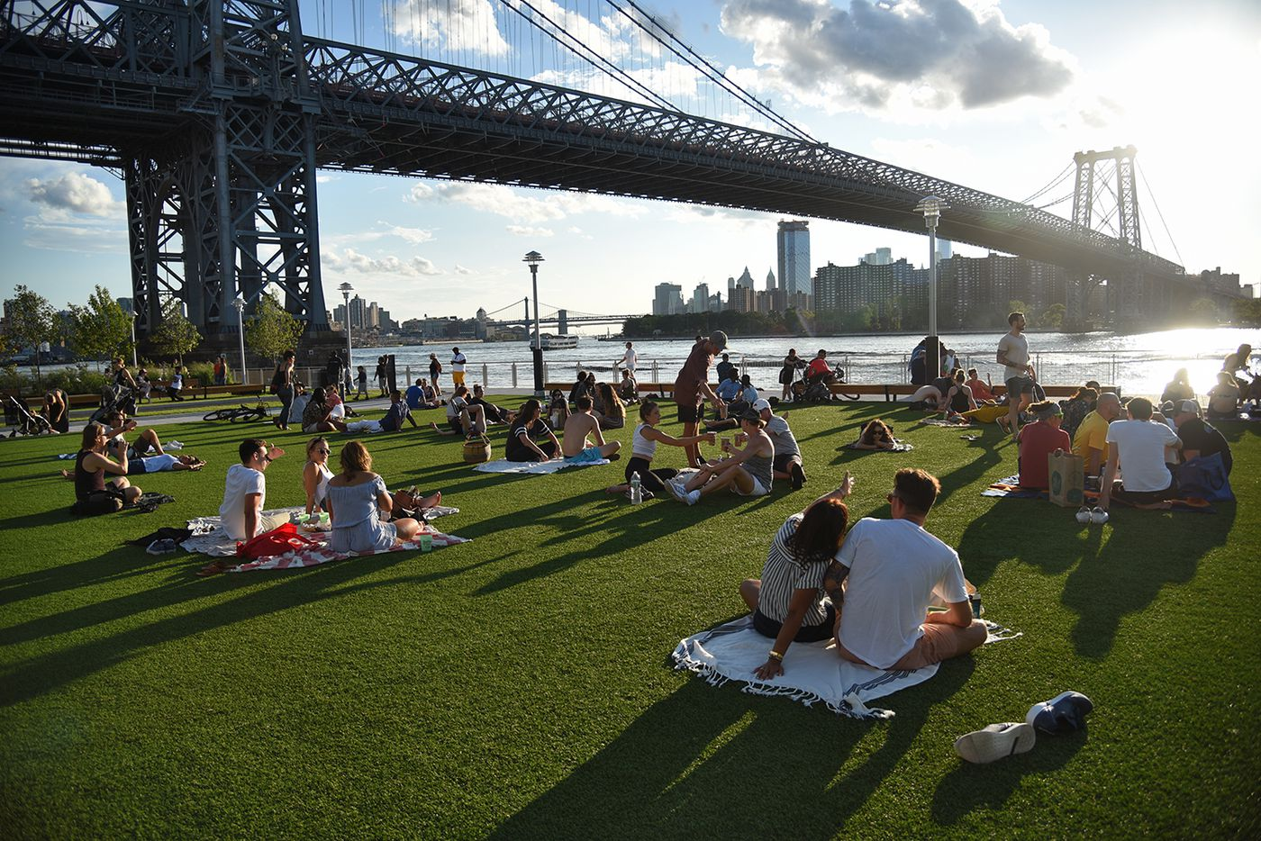 NYC's new waterfront parks represent the erasure of its