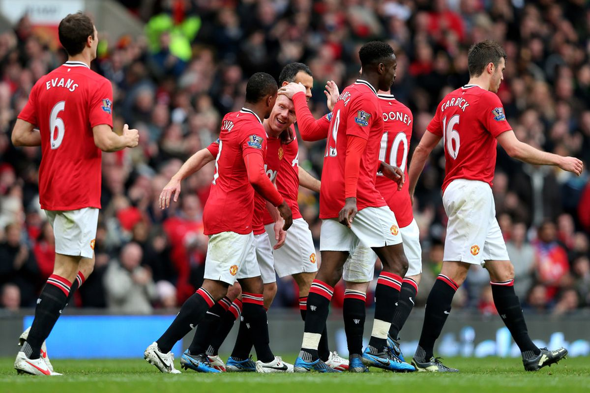 As always, Scholesy in the middle of it all...