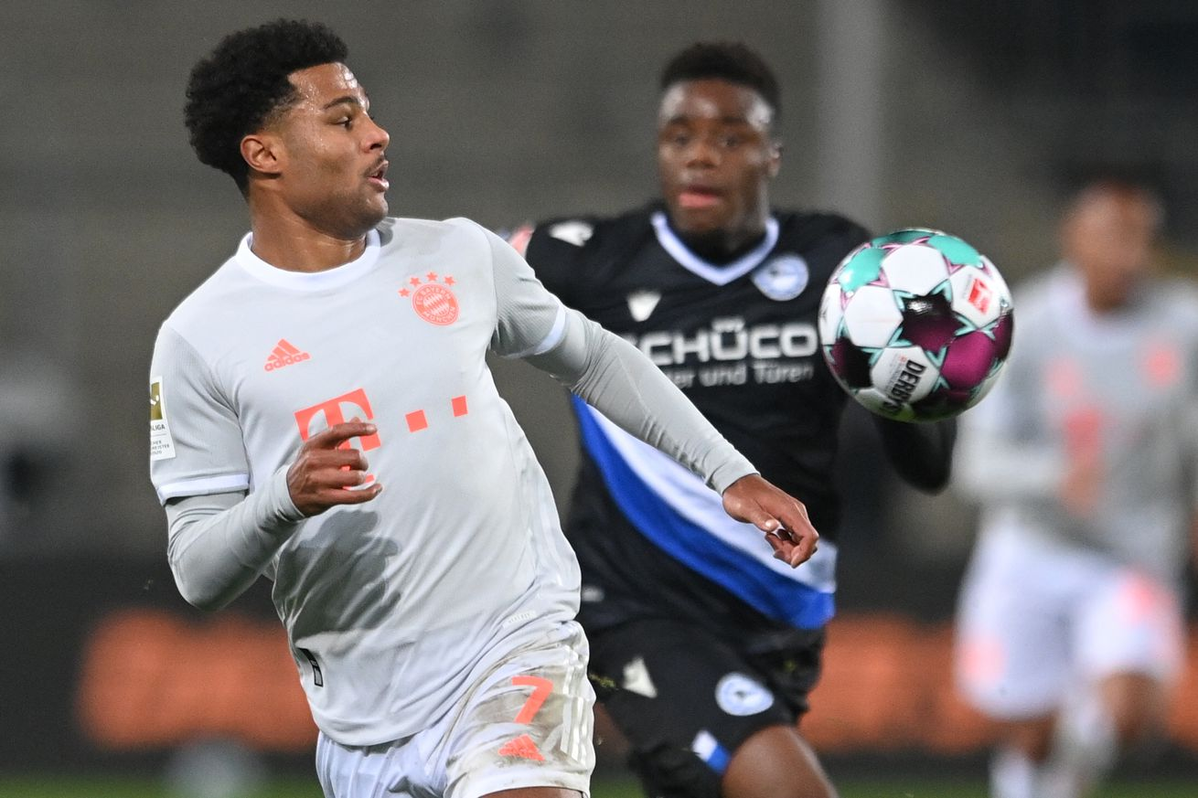 BREAKING: Serge Gnabry tests positive for COVID-19