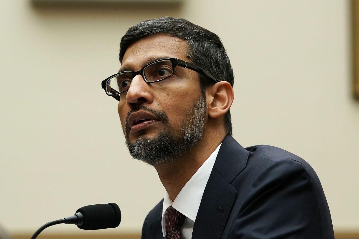 Sundar Pichai had to explain to Congress why Googling 'idiot