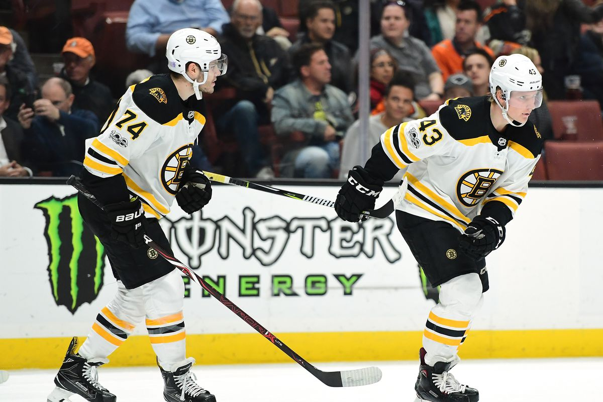 What we ve learned about the Bruins  young players (after 20 games) -  Stanley Cup of Chowder dfcd7dc6e