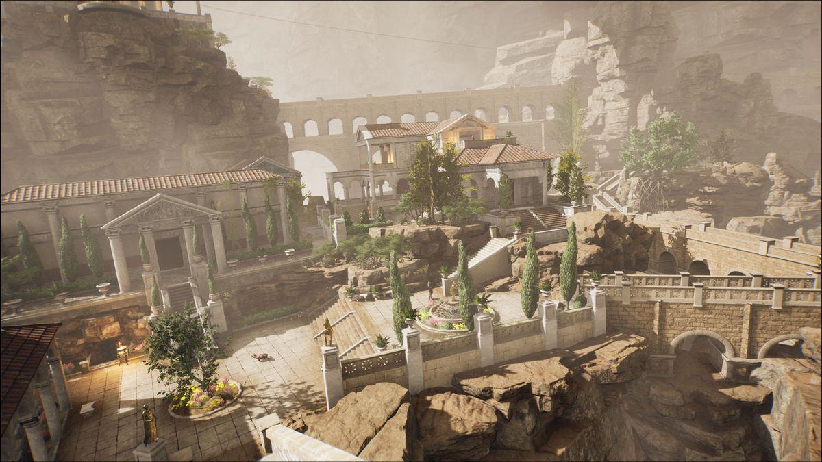 The Forgotten City's titular Roman village