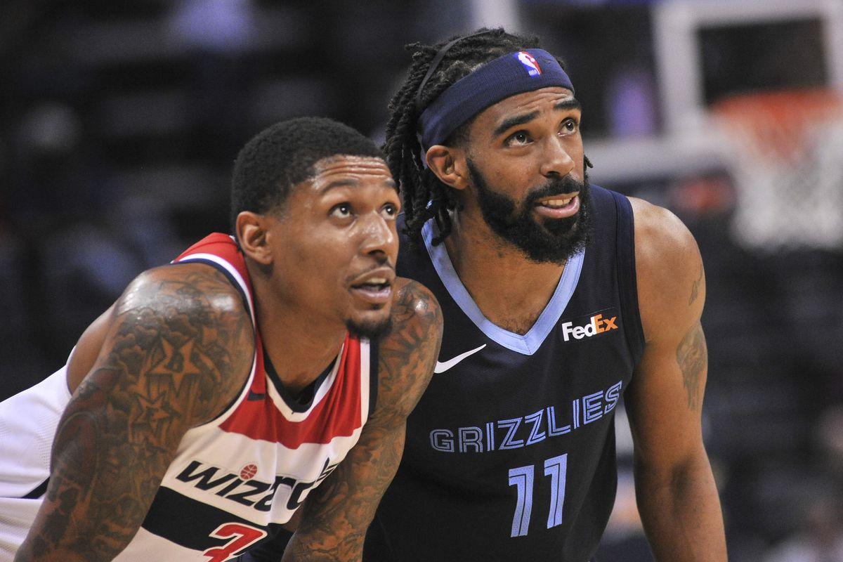 87d13fcc5e86 Game Preview  Memphis Grizzlies vs Washington Wizards - Grizzly Bear ...