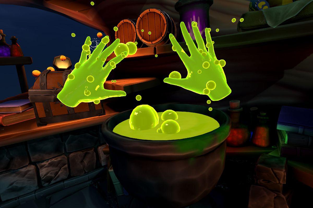 Screenshot of Elixir on Oculus Quest