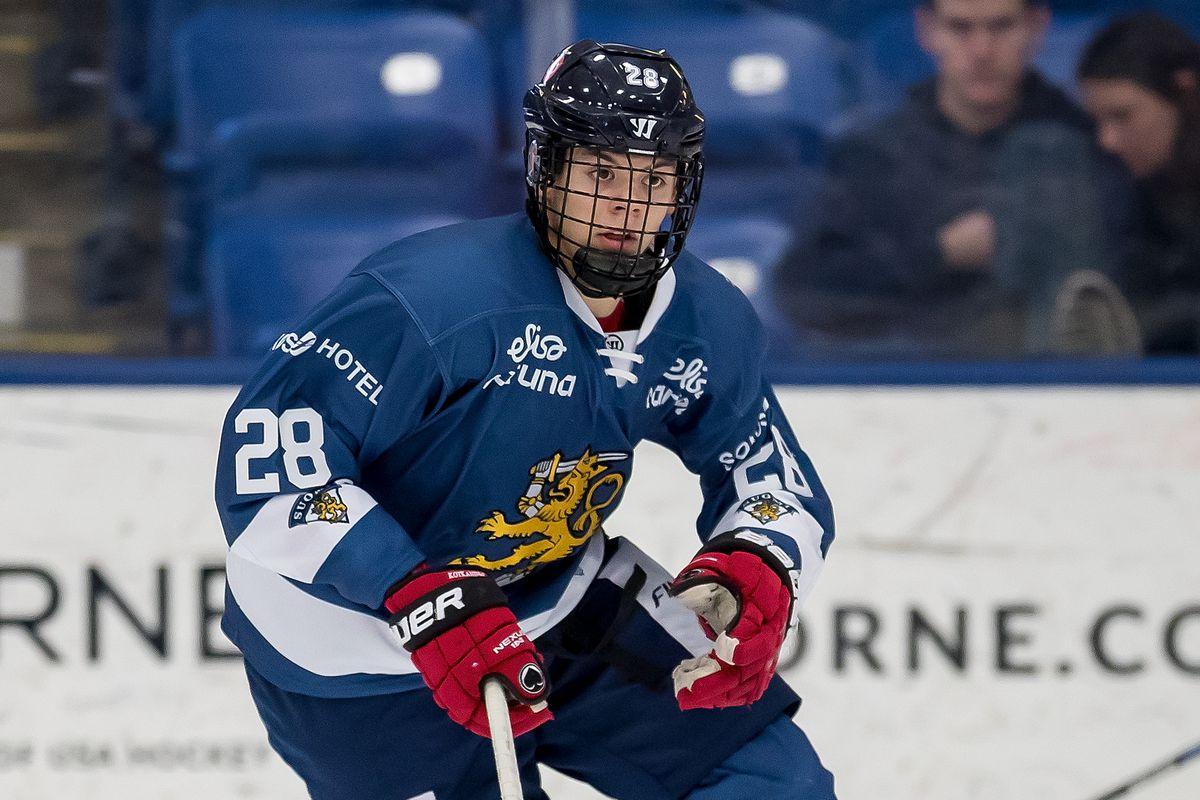 NHL Mock Draft 2018  Washington Capitals Select Jesperi Kotkaniemi ... f47d14784a1