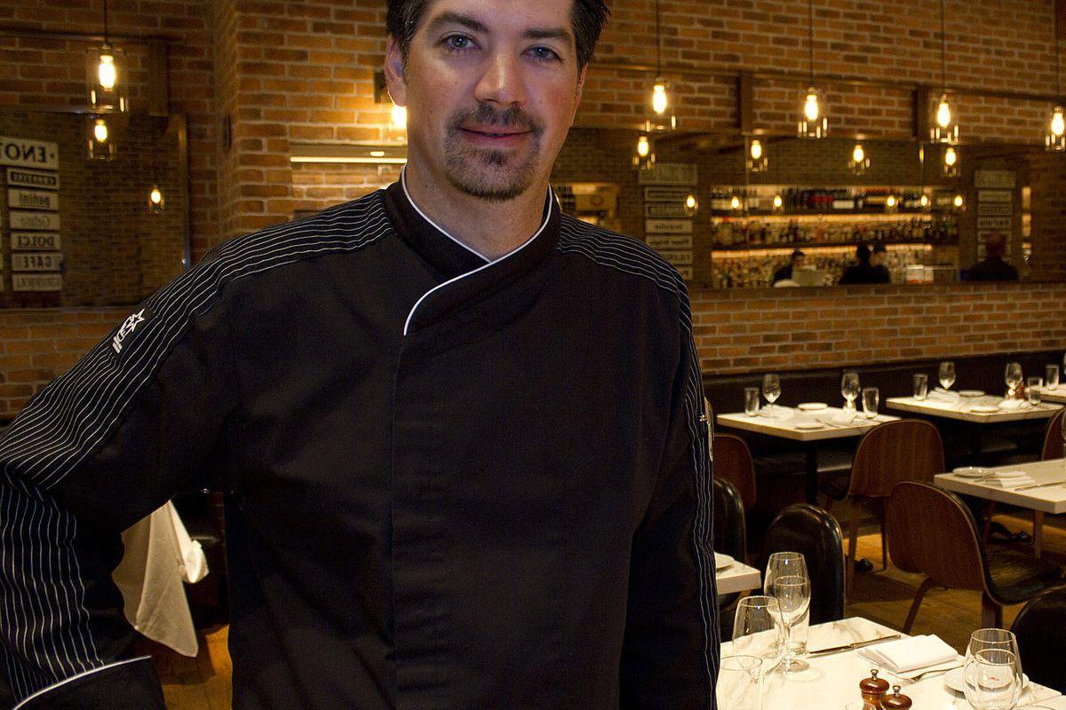 Dan Rossi, executive chef of D.O.C.G. Enoteca