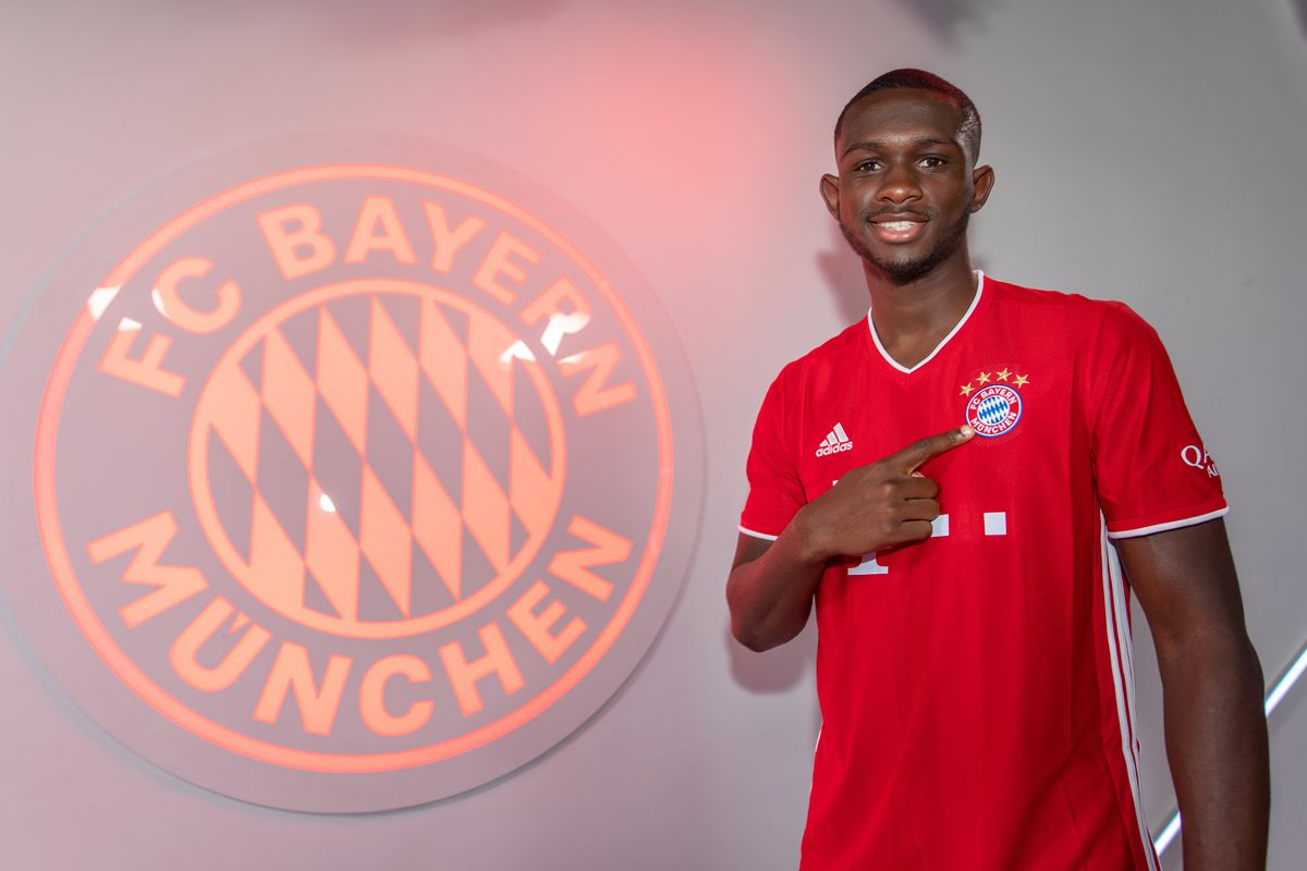 FC Bayern Muenchen Unveils New Signing Player Tanguy Nianzou Kouassi