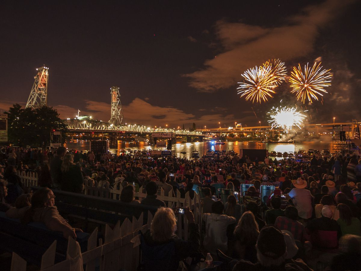 Where to Watch Portland Fireworks on Fourth of July 2018
