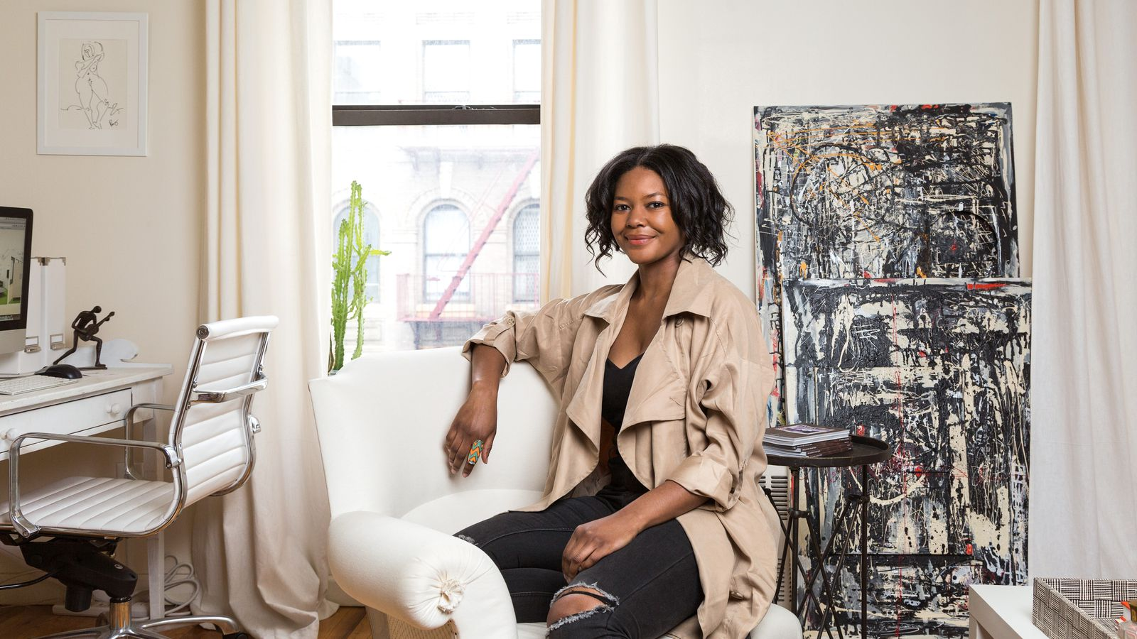 Dani arps the nyc interior designer giving startups a for Young interior designers nyc