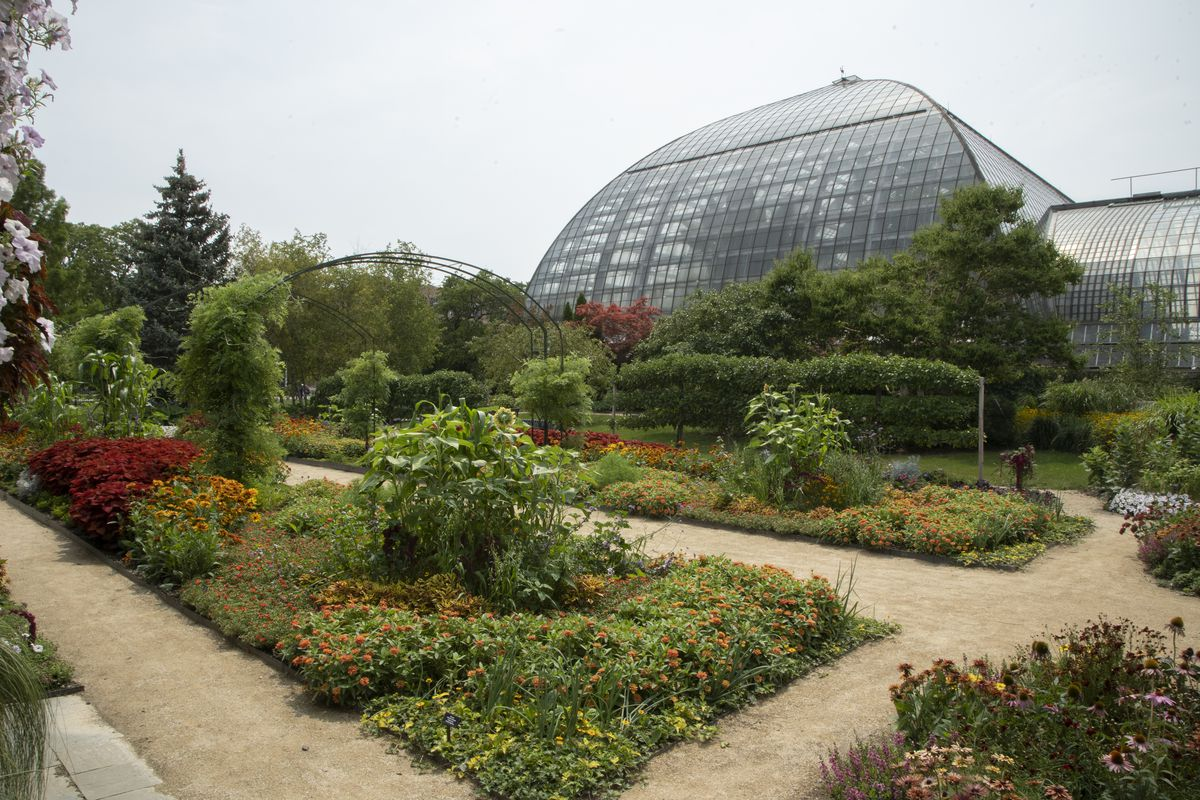 The Garfield Park Conservatory requires reservations, though general admission to the gardens is free. Reservations are added each day at 10 a.m. Wednesday through Sunday. Hours are Wednesday, 10 a.m. to 8 p.m.; Thursday through Sunday, 10 a.m. to 5 p.m.