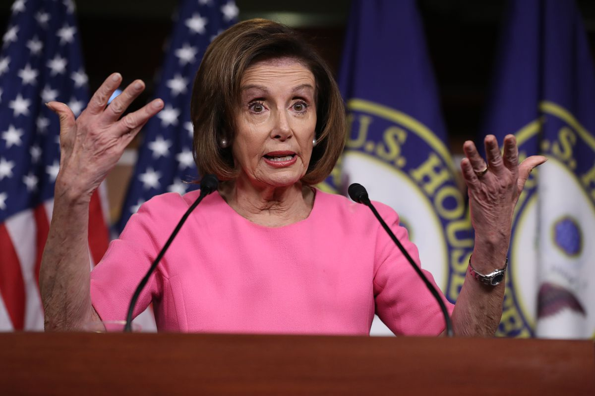 House Speaker Nancy Pelosi (D-CA) Holds Weekly News Conference