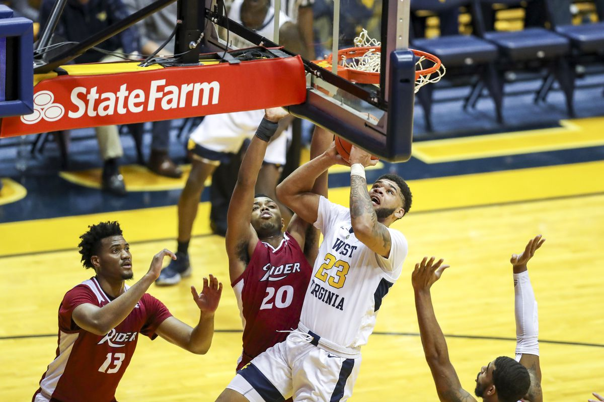 NCAA Basketball: Rider at West Virginia