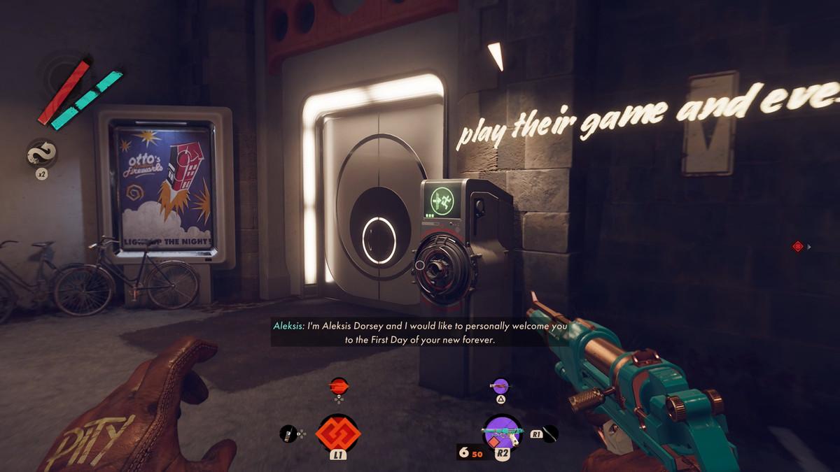 Open the ClassPass door in Charlie's mansion — Deathloop guide