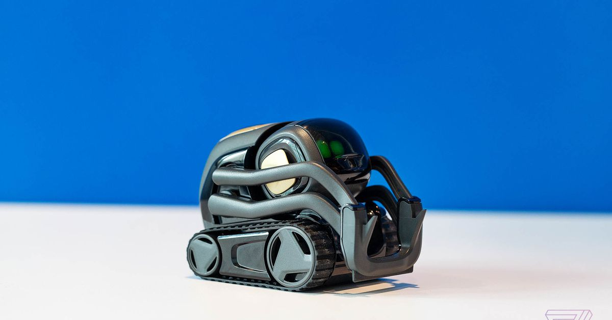 Anki Vector Home Robot Voice Assistant A.I.