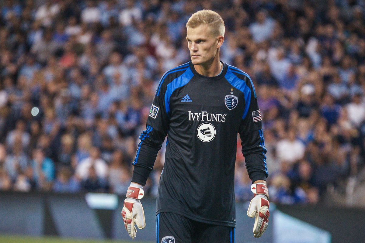Jon Kempin was the first homegrown player for Sporting Kansas City