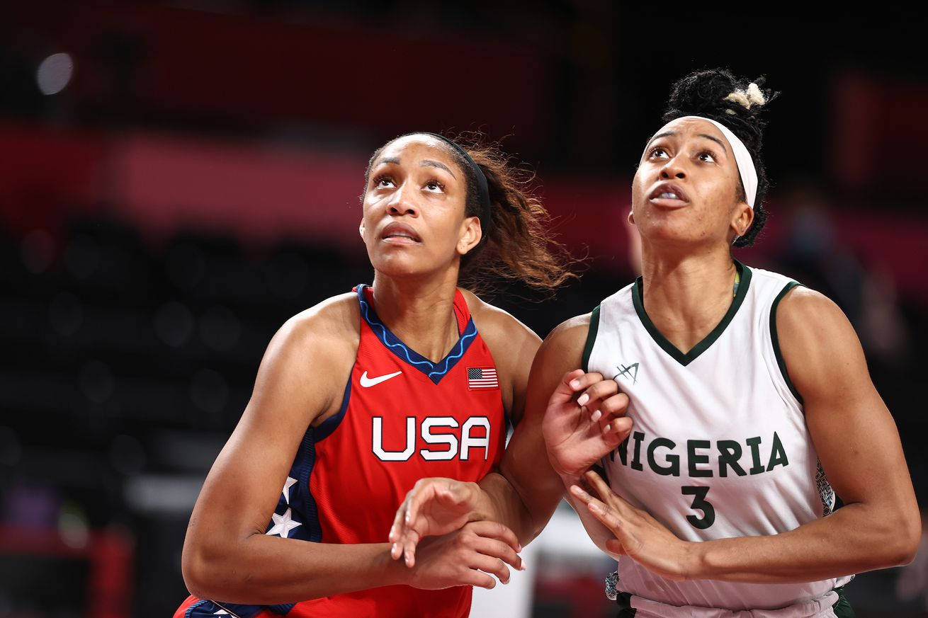 A'ja Wilson leads Team USA to victory against Nigeria in Olympic prelims