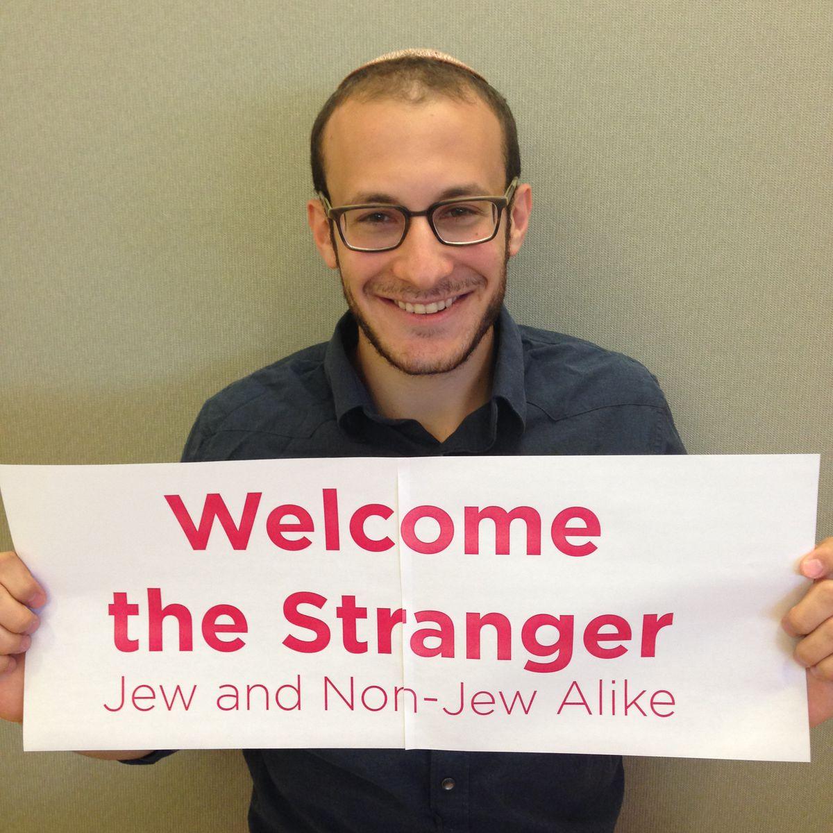HIAS welcome the stranger