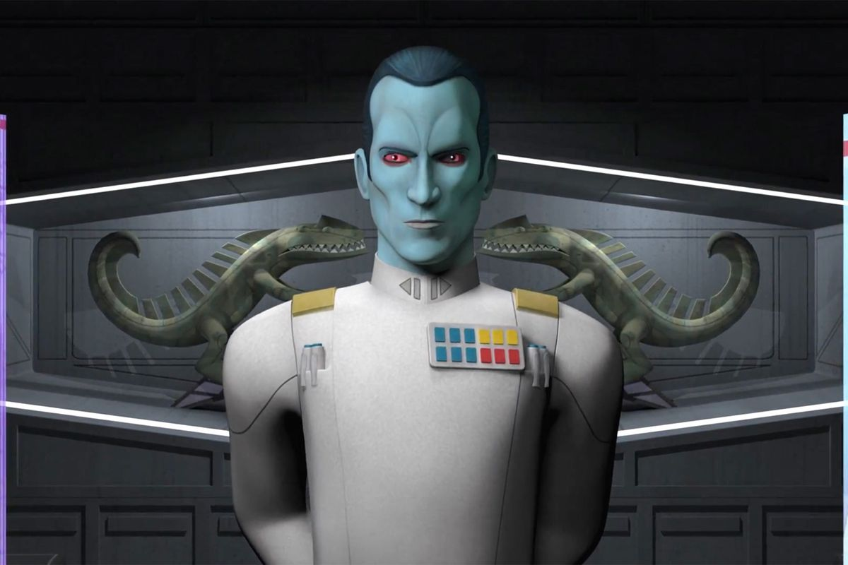 Grand Admiral Thrawn, Star Wars' amazing, once-erased