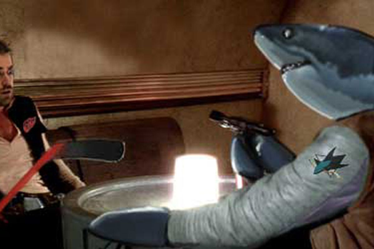 Hank Solo and Jumbo in the famous scene