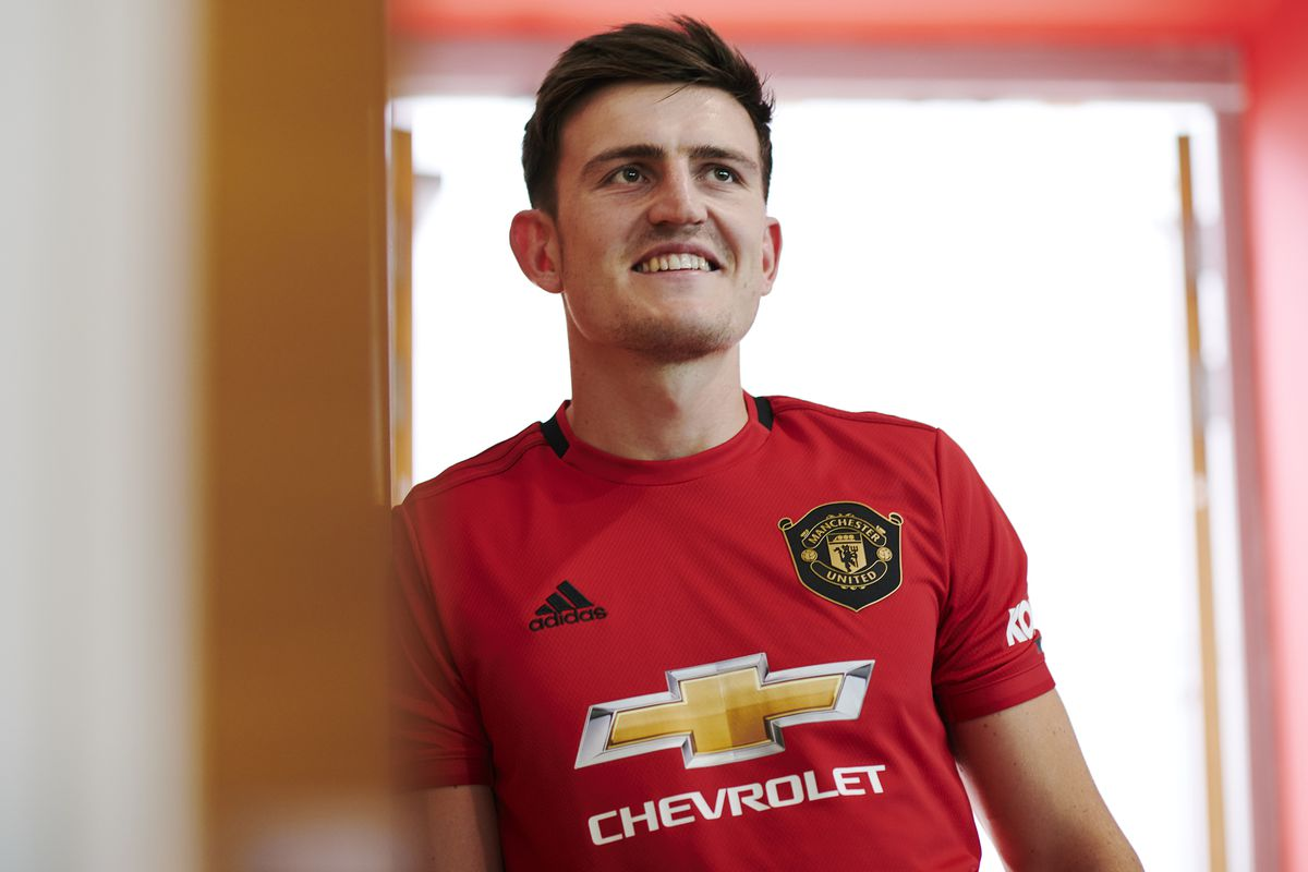 Manchester United Unveil New Signing Harry Maguire - Premier League