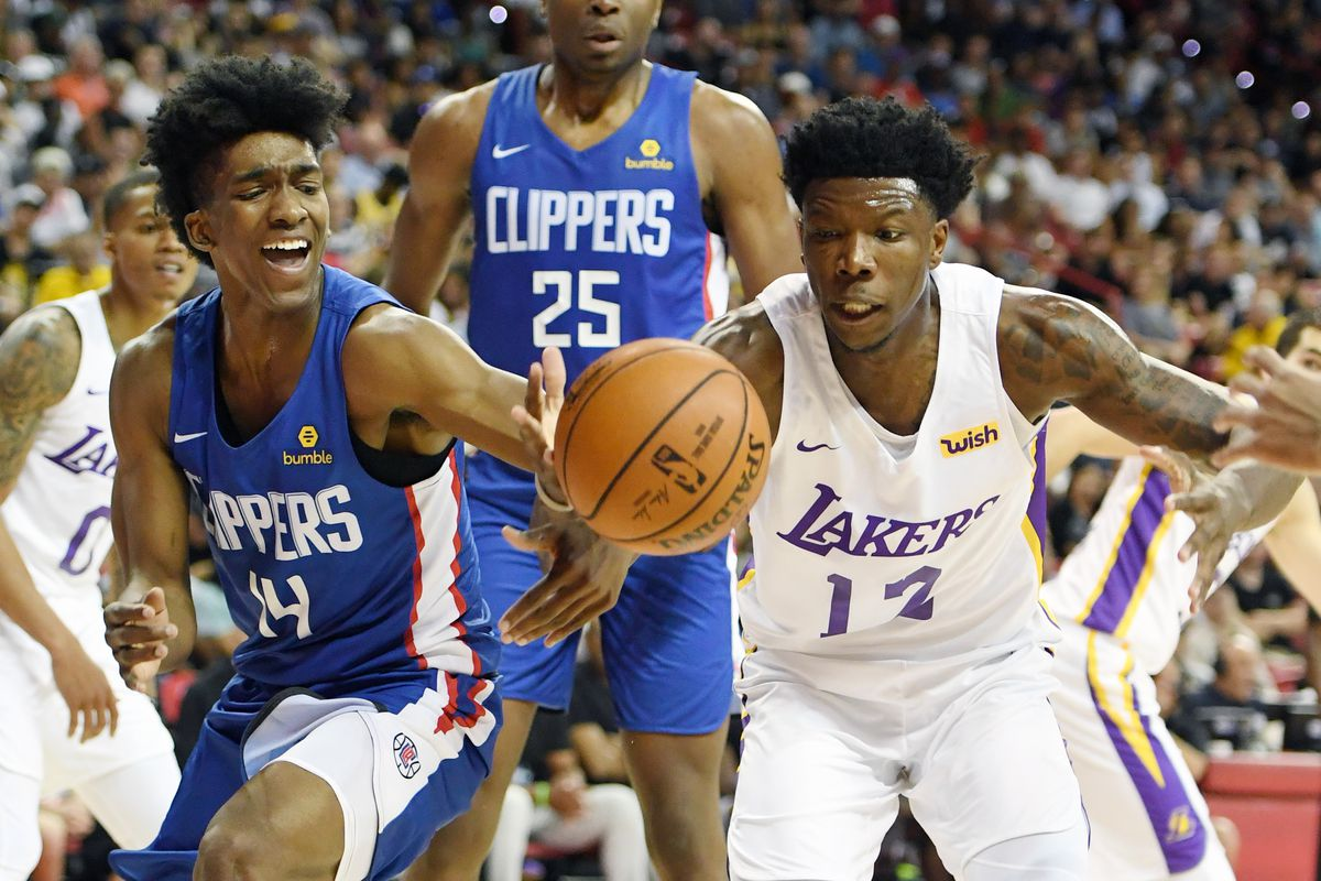 Lakers sign Devontae Cacok, Aric Holman to Exhibit 10 ...Lakers Vs Clippers