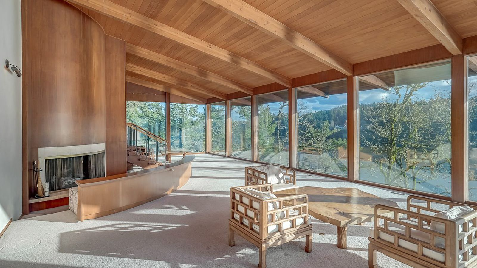 Own a dreamy 1965 lake house with spectacular views curbed for How much does a lake house cost