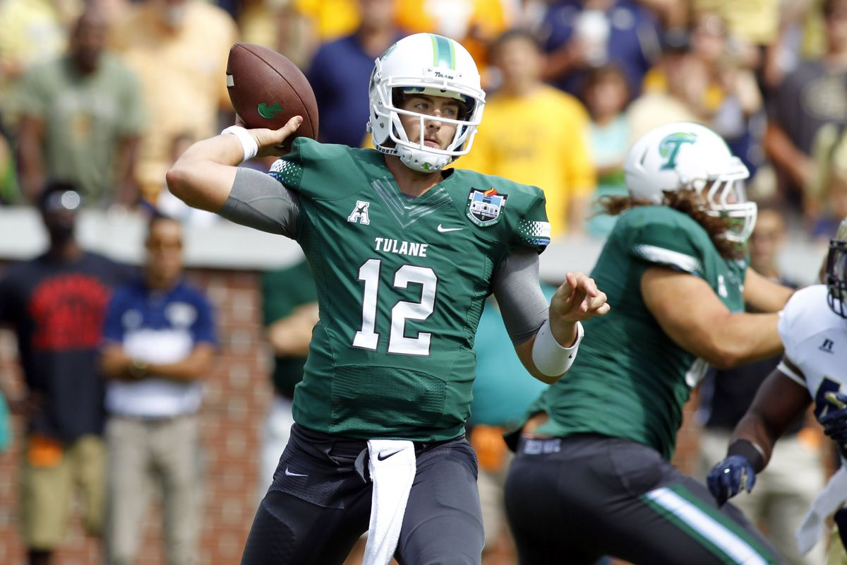 Tulane QB Tanner Lee threw for 277 yards in Saturday's win.