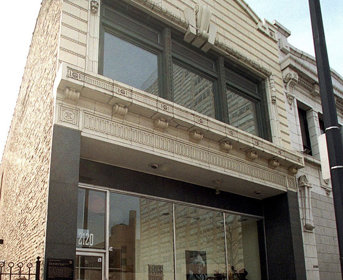 The former Chess Records building, 2120 S. Michigan Ave.