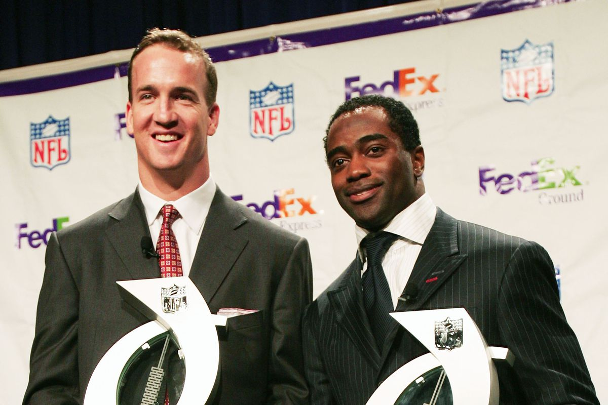 Fed Ex Air & Ground NFL Players of the Year Press Conference