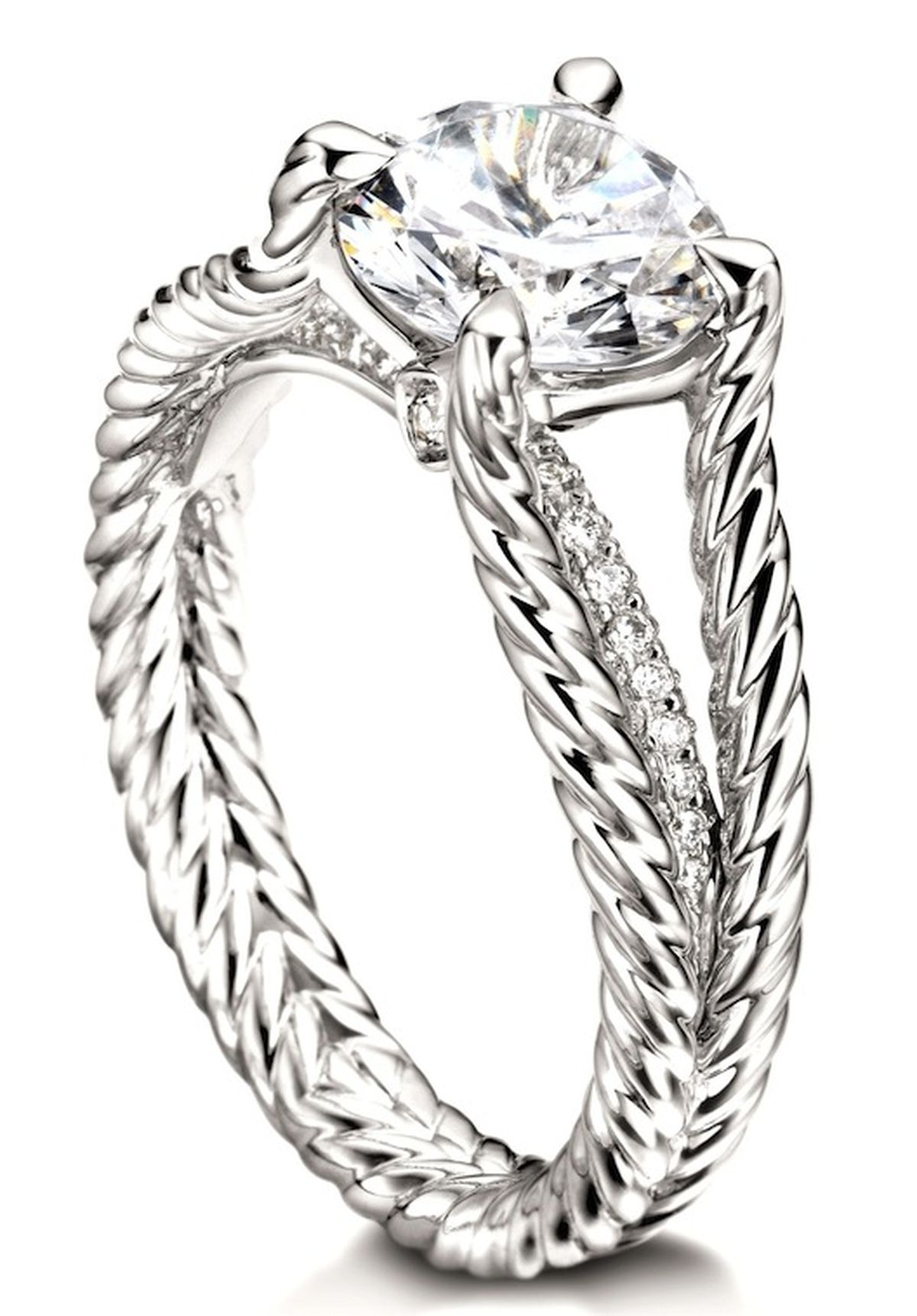 7 giant diamond engagement rings to ogle from david yurman