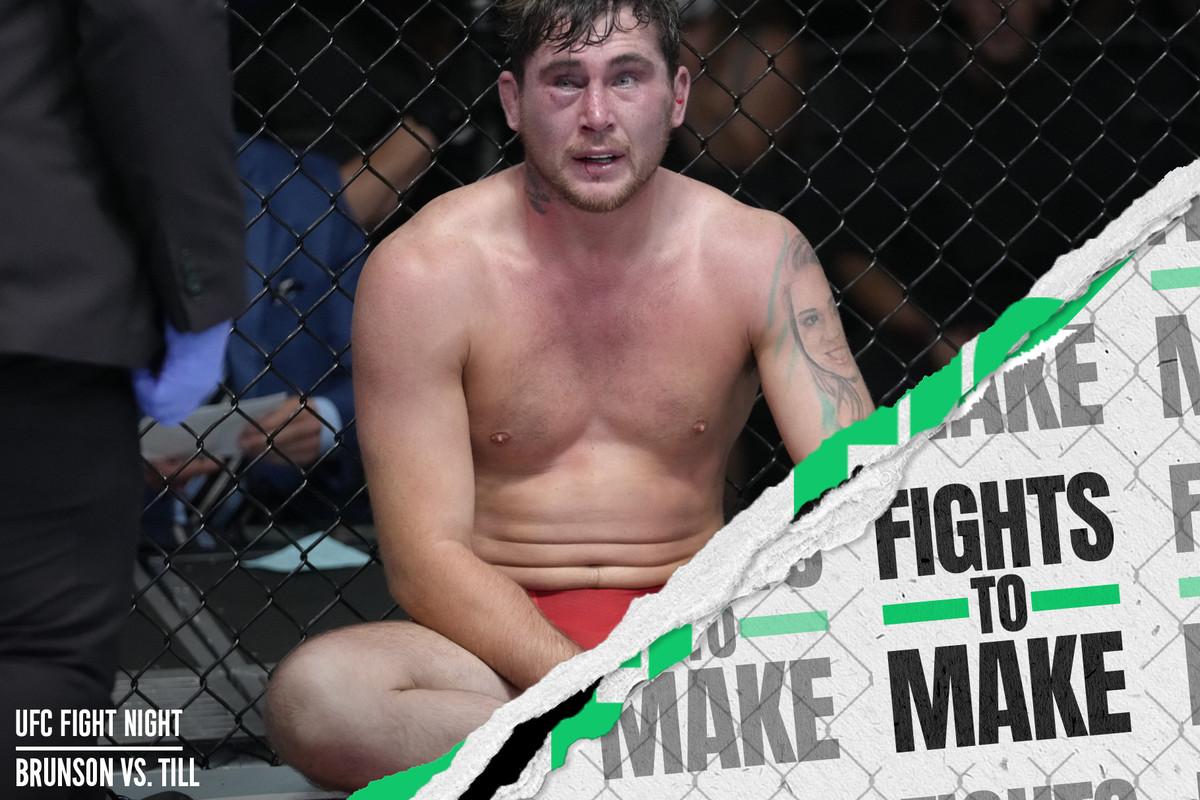 Darren Till after his UFC Vegas 36 loss to Derek Brunson.