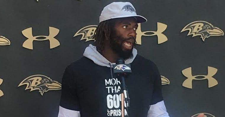 Ravens LB Matt Judon wears same T-shirt about mass incarceration as Eagles S Malcolm Jenkins