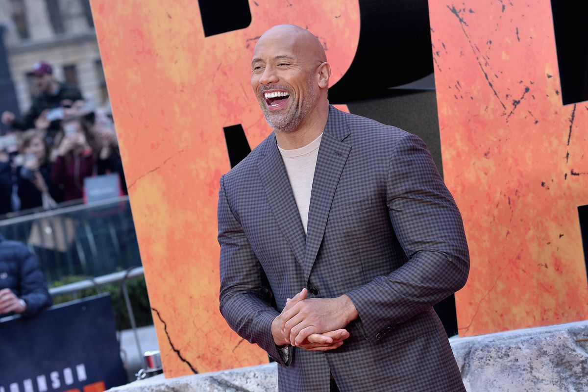 Dwayne the rock johnson is not running for president in 2020 good jeff spicergetty images m4hsunfo