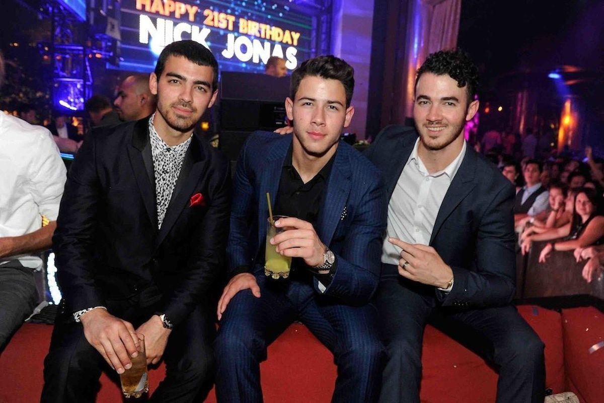 Joe, Nick and Kevin Jonas. Photo: WireImage