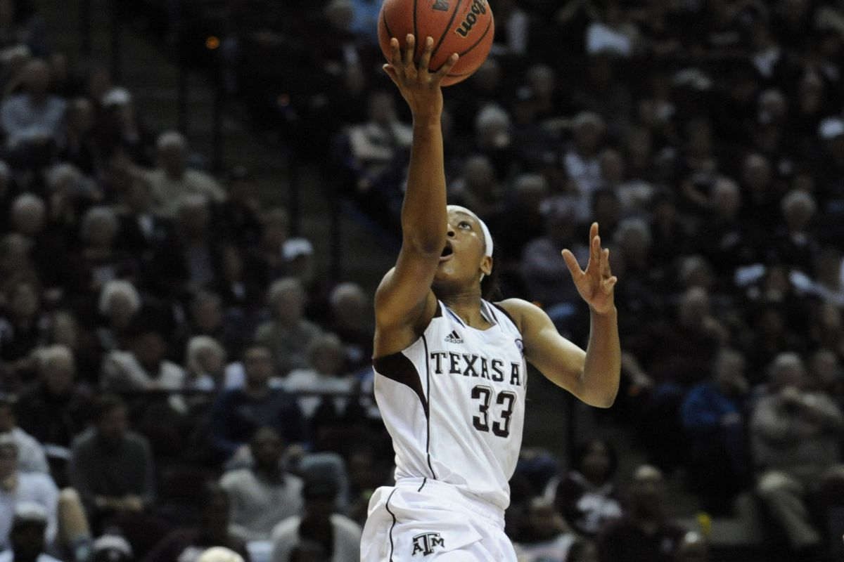 Courtney Walker led the Ags again with 18 points