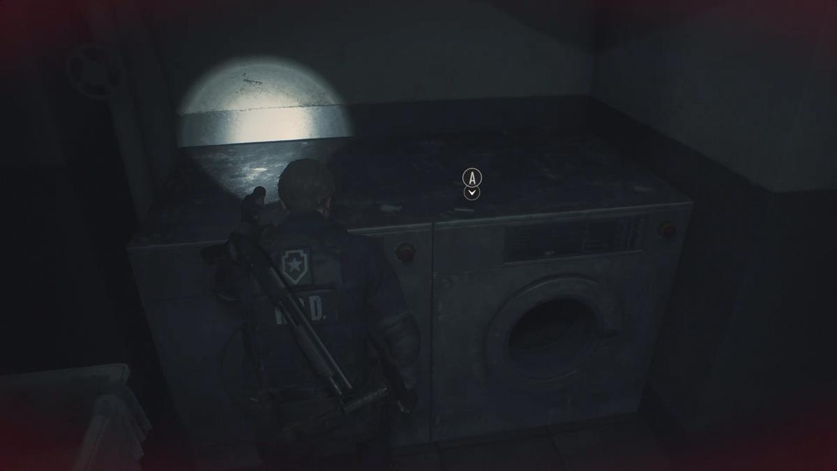 Resident Evil 2Spare Key 2 Portable Safe location